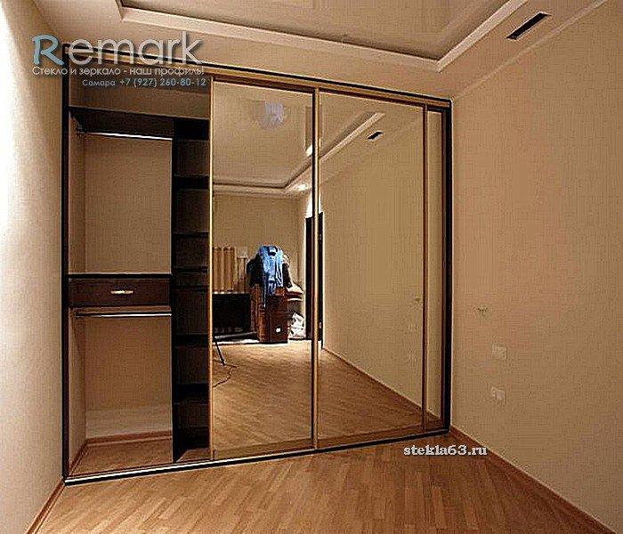 Шкаф купе с зеркалом, шкаф купе зеркальный, шкаф купе двухст.